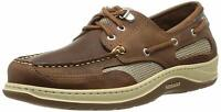 Sebago Clovehitch II Men's Walnut Leather Loafers NW/OB
