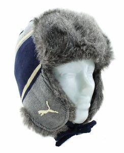 Puma Ralph Knit Trapper Hat Russenmütze Fliegermütze Mütze Damen Herren 843422
