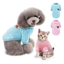 Ropa para perros Suéter para perros Bordado de punto Chihuahua Cachorro Gato