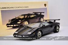 AUTOart 1:18 Lamborghini Countach 5000S 1982 (Black) LP500S