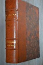 Iconographie Alsatique / F. Reiber / Catalogue des estampes et des livres / F10N