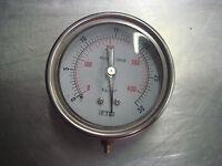 FTB Used (0-400 psi; 0-30 Kg/cm2) Pressure Gauge