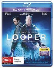 Looper - Bruce Willis (Blu-ray, Region B, 2014, Like New) gf6