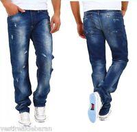 Jeans Uomo Pantaloni DENIM REPUBLIC A691 Tg 34 36