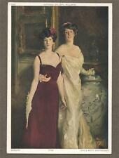 Ena & Betty Wertheimer. Sargent..  Artist.  unused  postcard ART   n.101