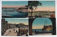 More details for 12 x malta assorted maltese vintage postcards e20c - ma359