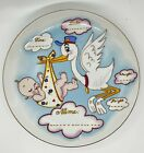 Vintage+Lefton+Baby+Announcement+Plate+Name+Date+Time+Weight+Height+Unused+1986