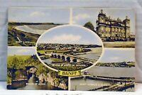 Banff  VINTAGE  Postcard