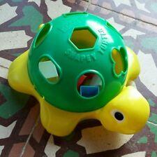 Tortue Playskool Shapey Turtle jouet jeu éducatif vintage à formes. Complet