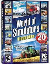 New World of Simulators - Ultimate Edition -  20 flight, driving  farming & m...