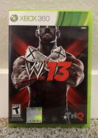 WWE W13 (Microsoft Xbox 360, 2012) FREE SHIPPING