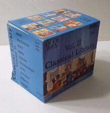 Classical Library CDs ONYX Vol. 2  Bach Rachmaninoff Bizet Strauss Ravel Vivaldi
