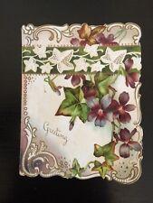 Vintage greeting card unused original blank