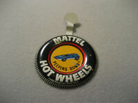 Vintage Hot Wheels Redlines Button Badge Peeping Bomb With Tab