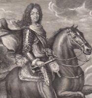 Portrait XVIIIe Louis Le Grand Louis XIV Bourbon Roi Soleil Roi France Navarre