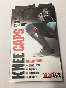 Rock Tape Knee Caps Support Set Of 2 Red Size XS Thickness 7mm