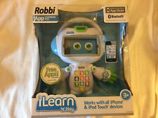 ROBBI APP LEARNING TOY i LEARN n PLAY NEW WORKS WITH iPHONE & iPOD TOUCH DEVICES