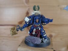 CLASSIC METAL WARHAMMER SPACE MARINE LIBRARIAN TERMINATOR ARMOUR PAINTED (4340)