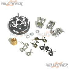 34mm Flywheel + Clutch Shoe + Spring #E70-BU02100 (RC-WillPower) Alpha