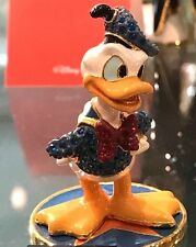 "Disney Parks Authentic ""Donald Duck"" Jeweled Figurine By Arribas - SWAROVSKI® LE"