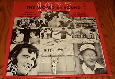 THE ASSOCIATED PRESS PRESENTS THE WORLD IN SOUND 1977 ORIGINAL LP