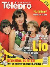 Télépro N°2872 lio alain bashung marion cotillard la BD a bruxelles 2009