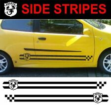side stripes abarth style fits fiat punto 1999 - 2006