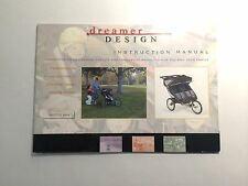 Dreamer Design Ditto RPS Jogging Jog Stroller Replacement Instruction Manual