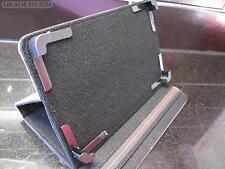 Púrpura 4 Esquina agarrar Multi ángulo case/stand Para Onda v701s Quad Core Tablet