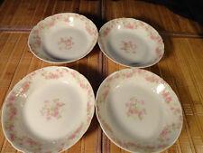 """C. H. Field Haviland Limoges GDA France Berry/Dessert Bowls, 5"""" wide , Set of 4"""