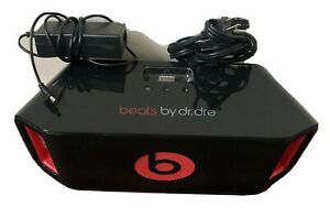 Full Size Beats by Dr Dre Portable Beatbox NFC Bluetooth USB Black & Red Monster