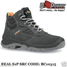 U Power Scarpe Antinfortunistiche Lavoro Alte S1P SRC Real BC10315 upower