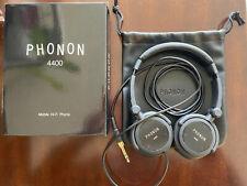 Phonon 4400 Sealed Dynamic Type Headphone Folding Type Hi-Fi Phone Used Once