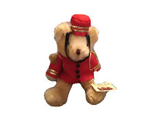 """More details for 9"""" the teddy bear collection barney the bellboy"""