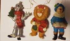 Wizard of Oz Christmas ornaments by Kurt S. Adler