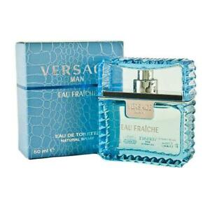 50ml versace man eau fraiche eau de toilette perfume men 1.6 oz