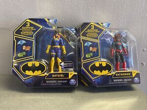 2021 SPIN MASTER * DC * FIRST EDITION * BATGIRL And Batwoman