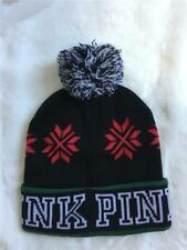 Nwt Victoria's Secret Pink Pom Pom Hat