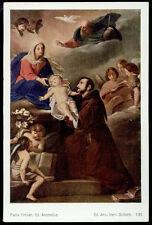 """santino-holy card""""S.ANTONIO DA PADOVA"""