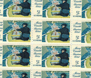 Full mint sheet of 50 Mary Cassatt American Artist #1322 MNH OG