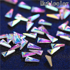 Nail Art 3D Rhinestones Glitters Beads Acrylic Tips Decorations Wheels Manicure