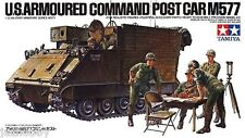 Tamiya 35071 1/35 Scale Model Kit US Army Armoured Command Post Car Vehicle M577