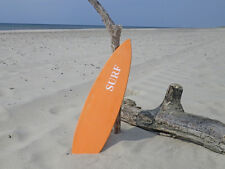 Schild Surfboard orange