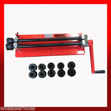 WNS Hand Bead Roller Swager Machine Former Jenny 457mm x 1.2mm 6 Sets of Rolls