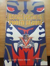 1997-98 FLORIDA PANTHERS PHOTO ALBUM JOHN VANBIESBROUCK