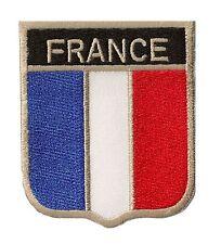 Ecusson patche FRANCE OPEX blason équipe thermocollable patch DIY brodé