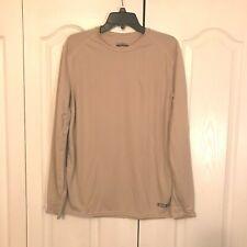 * XGO Long Sleeve T-Shirt, Size: Medium, New!  Color: Sand  Level: 1