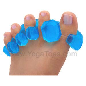 YogaToes Yoga Toes GEMS — Gel Toe Separator & Straightener