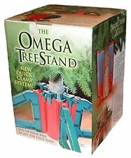 "Trees up to 10ft Omega OM-1 Resin Knock Down Tree Stand, 30"" Chrismas Holiday"