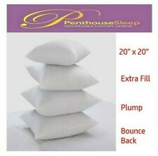 """20"""" Inch Cushion Inner Sofa Cushion Pads Fillers Inserts Thick Plump   20""""x 20"""""""